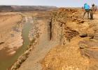 Fishriver Canyon: Am Abgrund
