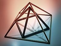 Pyramidale Dreiecke